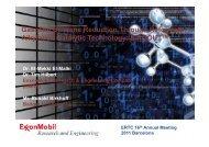 Exxon Mobil - Global Technology Forum