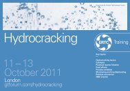 Hydrocracking - Global Technology Forum