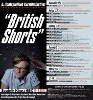 das vollständige Programm 2012 als PDF - British Shorts