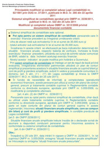 Freelance Graphics - modificari legea contab.PRZ - Finante Publice ...