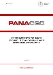 STUDIEN ZUM EINSATZ VON ZEOLITH BEI CHEMO - panaceo