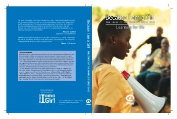 Because I am a Girl: The State of the World's Girls 2012 ... - Plan