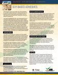 Soy-BaSed adheSiveS - Soy New Uses - Page 2