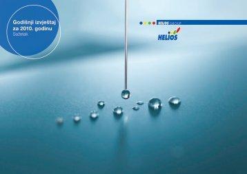 Godišnji izveštaj 2010 - Helios Group