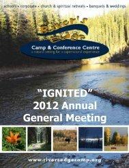 2012 - River's Edge Camp & Conference Centre