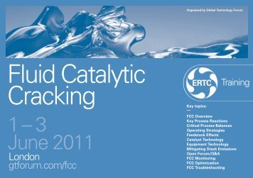 Fluid Catalytic Cracking - Global Technology Forum