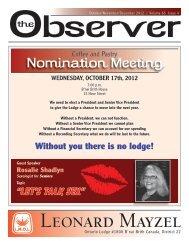 October/November/December 2012 Observer - Lmol.ca
