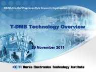 T-DMB Technology Overview