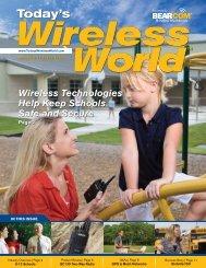 Wireless Technologies Help Keep Schools Safe ... - BearCom.com