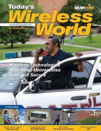 Wireless Technologies Help Keep Universities Safe ... - BearCom.com