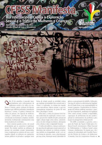 dia internacional contra a exploração sexual e o tráfico de ... - CFESS