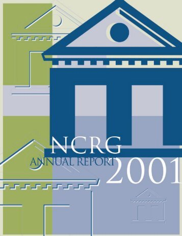 2001 Annual Report - National Center for Responsible Gaming