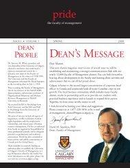 2000 - Haskayne School of Business - University of Calgary