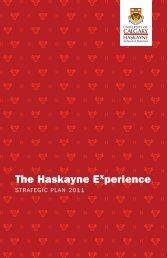 Download our Strategic Plan - Haskayne School of Business