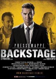 BS Pressemappe Deutsch HQ - Backstage Film