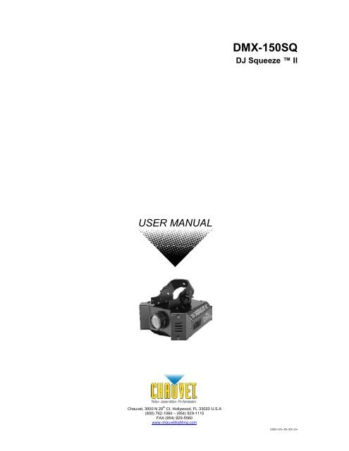 DMX-150SQ - Pro Audio and Lighting