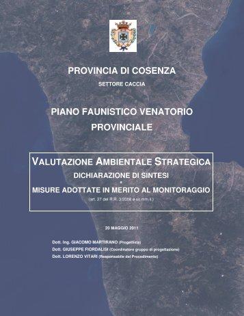 Dichiarazione_sintesi_misure_monitoraggio - Provincia di Cosenza