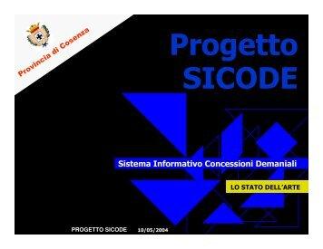 Presentazione del progetto - Provincia di Cosenza