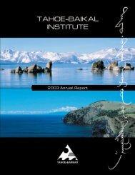 2003 Annual Report - Tahoe-Baikal Institute