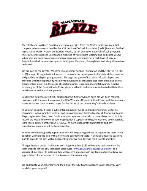 Athletic Sponsorship Letter Template from img.yumpu.com