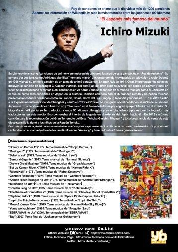 """CV - Ichiro Mizuki """"Rey del Anisong"""""""