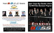 brochure - Upper Tampa Bay Chamber of Commerce