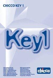 CHICCO KEY 1 - Key1 - Chicco