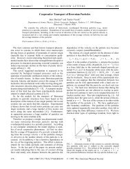 Cooperative Transport of Brownian Particles