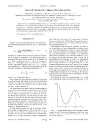 Intrawell relaxation of overdamped Brownian particles