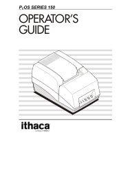 Series 150 Operator's Guide - TransAct