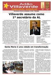 Villaverde assume como 1º secretário da AL - Adão Villaverde