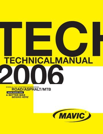 MT 01_07.indd - tech mavic