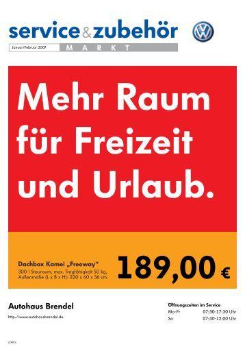 service&zubehör - Autohaus Brendel Mellrichstadt