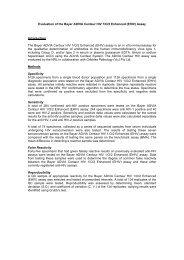 Evaluation of the Bayer ADVIA Centaur HIV 1/O/2 Enhanced ... - NRL
