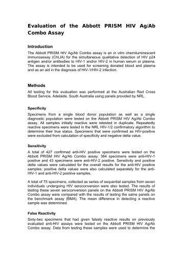 abbott prism hcv community blood services rh yumpu com  abbott prism user manual