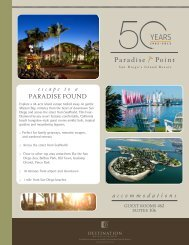 PARADISE FOUND - Paradise Point Resort & Spa