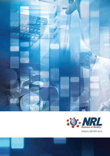 ANNUAL REPORT 2010 - NRL