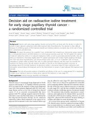 Decision aid on radioactive iodine treatment for early - BioMed Central