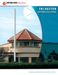 Tri-Sector Antenna Solutions Brochure - Aicox