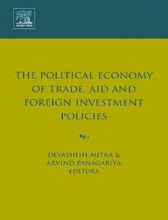 The Political Economy of Trade, Aid and Foreign Investment Policies ...