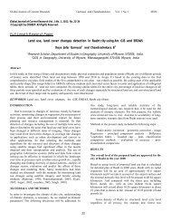 Land use, land cover changes detection in Rasht city ... - CRDEEP