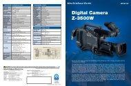 Digital Camera Z-3500W - ValTech Video DOO