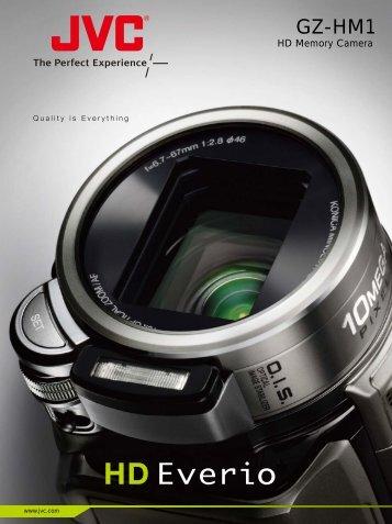 HD Memory Camera - JVC