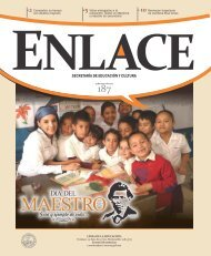 Enlace N° 187 Edición Especial Día del Maestro - Secretaría de ...