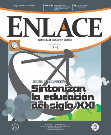Enlace N° 194 La cultura en los rincones escolares - Secretaría de ...