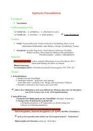 Epistaxis (Nasenbluten)