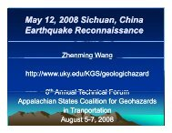 May 12, 2008 Sichuan, China y Earthquake Reconnaissance