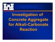 Potential Concrete Growth Resulting from Adverse Reaction ...