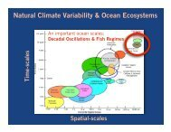 Natural Climate Variability & Ocean Ecosystems