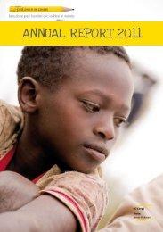 scarica l'annual report 2011 - Children in Crisis